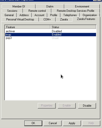 Microsoft active directory connector