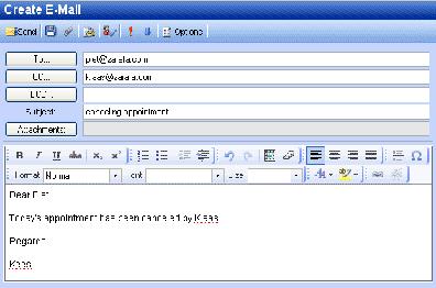 kirjoittaa dating email