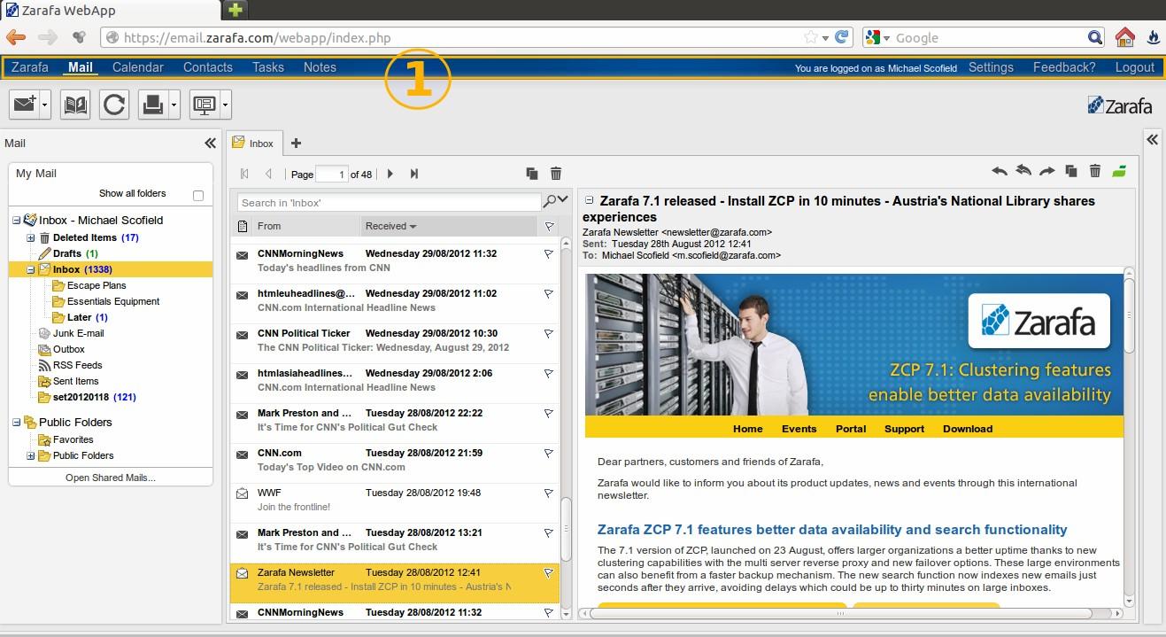Open source groupware » admin magazine.